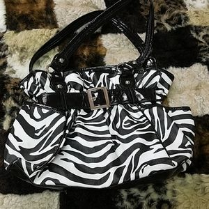 Handbags - Zebra print bag